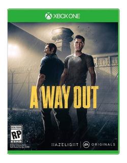 A Way Out / Xbox One / N0 Codigo / Modo Local