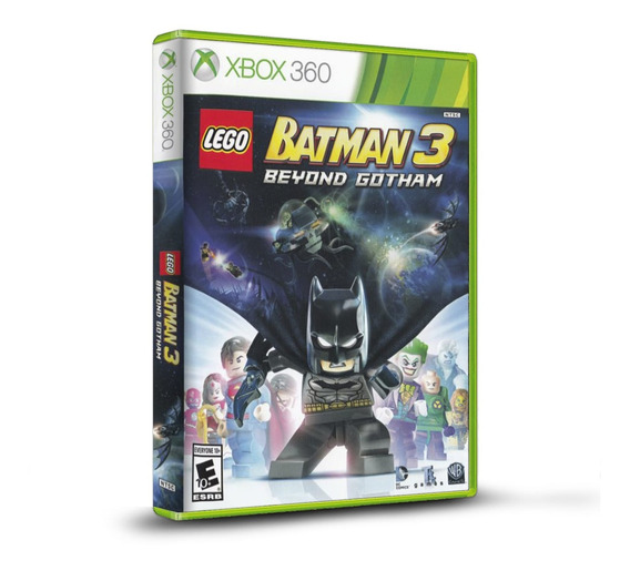 Lego Batman 3 Beyond Gotham - Novo Original Xbox 360