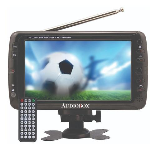 Tv Portátil 7 Pulgadas Audiobox Tv-007 Lcd Hd 100v/240v