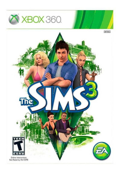 Game The Sims 3 - Xbox 360