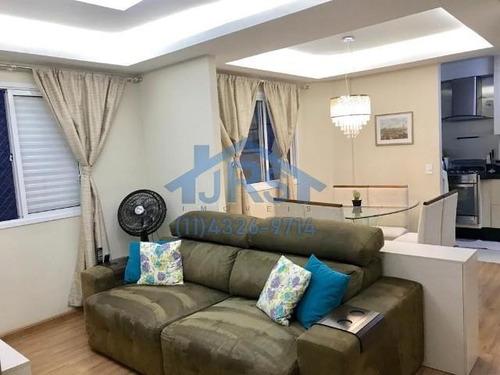 Imagem 1 de 19 de Cobertura Com 2 Dormitórios À Venda, 87 M² Por R$ 308.000 - Vila Ercília - Jandira/sp - Co0028