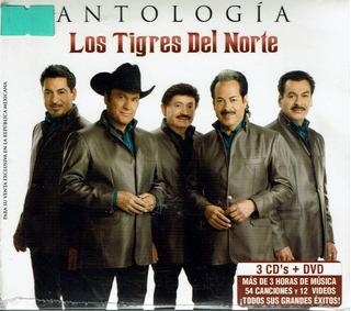 Antología Los Tigres Del Norte 3cd