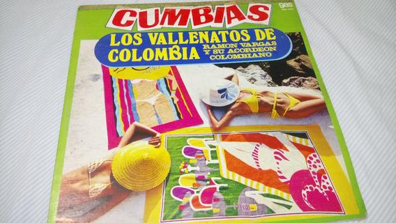Los Vallenatos De Colombia Lp 33 Rpm Ramon Vargas 0238