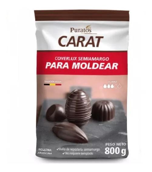 Chocolate Puratos Carat 800 G - Ciudad Cotillón - Envíos