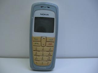 Nokia 2112 Rh-57 Piscada Geral Teclas Luz Branca Não Liga