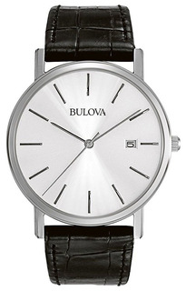 Bulova - Reloj 96b104 Corporate Stainless Steel Dress Para H