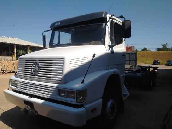 Mb 1418/93 Branco 6x2 No Chassis