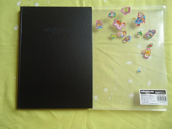 Álbum De Fotos Grande Preto Liso Do Japão Usado