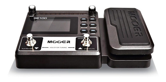 Pedaleira Ge100 Multi-efeitos P/ Guitarra Mooer + Fonte