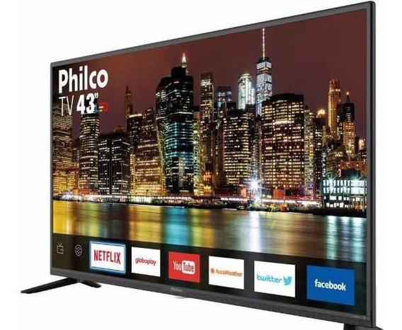 Smart Tv Full Hd Led 43 Philco Wi-fi 3 Hdmi 2 Usb