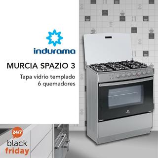Cocina Indurama A Gas Murcia Spazio Con Cilindro De Gas