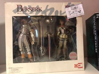 Berserk Edicion Limitada Griffith & Casca Hawk Soldiers