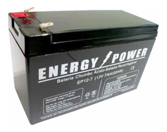 Bateria 12v 7ah Nobreak Apc Be600 Br1200 Br1500 12v 7ah