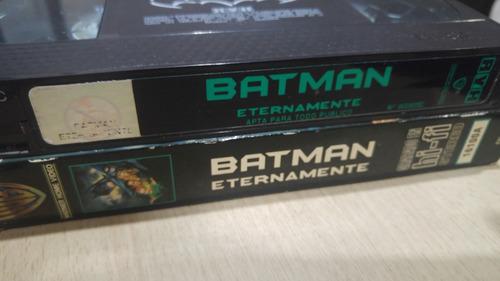 Vhs Batman Eternamente - Película Original