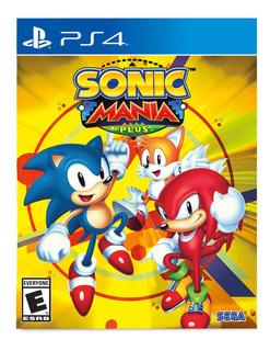 Sonic Mania Plus Ps4 Disponible