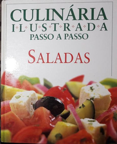 Culinária Ilustrada Passo A Passo - Saladas