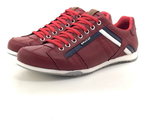 Brucap 784 Zapatilla Cuero El Mercado De Zapatos!!!
