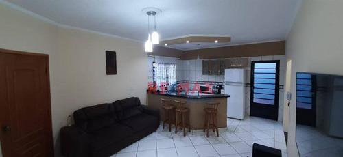 Imagem 1 de 10 de Casa Com 2 Dormitórios À Venda, 104 M² Por R$ 250.000,00 - Jardim Itamarati - Botucatu/sp - Ca1094