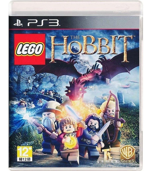 Lego Hobbit Ps3 Dublado Psn Digital
