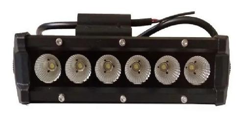 Faro Proyector 6 Led Cree 36 W - 2100 Lm - Poder Luminico