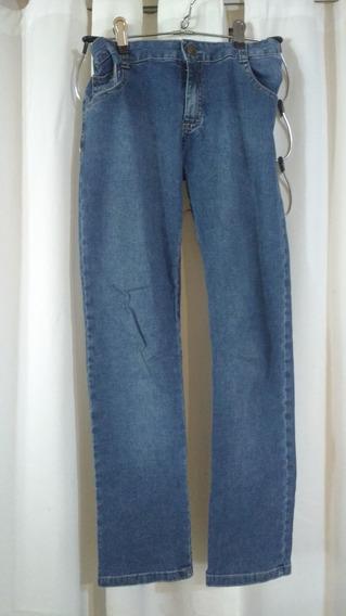 Jeans Niña T 12 ,azul Mimo & Co