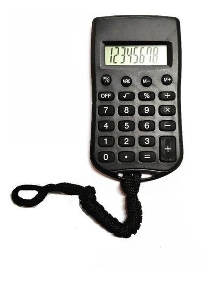 10 Calculadora De Bolso Com Cordão 8 Digitos Kenko Kk-8990