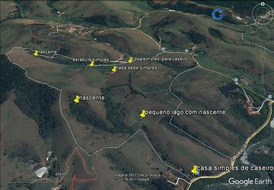 Fazenda Rural À Venda, Condomínio Residencial Colinas Do Paratehy, São José Dos Campos. - Fa0004