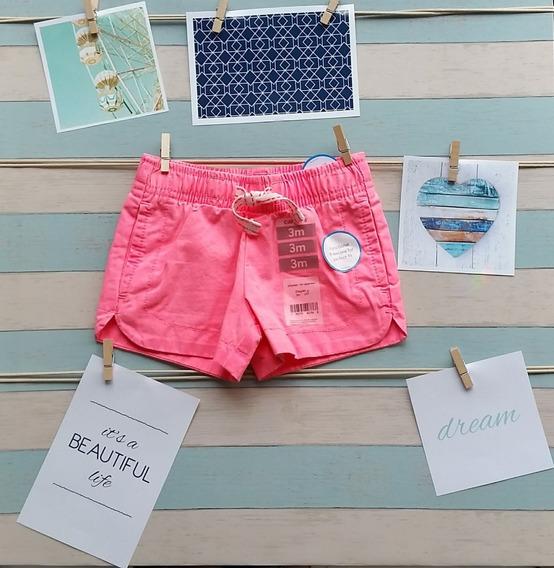 Shorts Carters Para Bebê Pronta Entrega Original