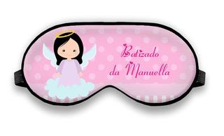 50 Máscara De Dormi Personalizada Batizado
