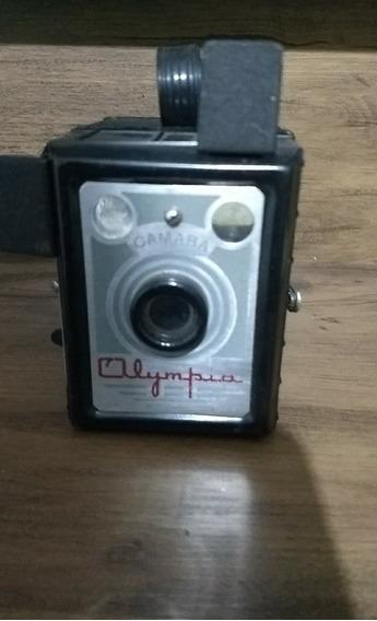 Camera Fotografica Olympia Raridade Unica