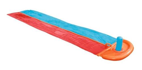 Imagen 1 de 4 de Tobogán Dragstrip Splash Slide 5.49m Bestway 52231