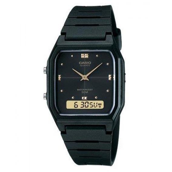 Relógio Casio Classico Aw-48he-1avdf Retro Unissex Original