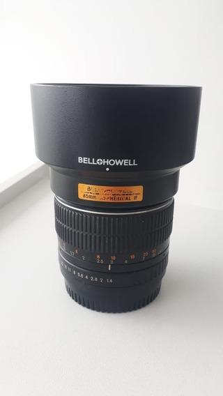 Lente 85mm 1.4 (rokinon) Para Canon
