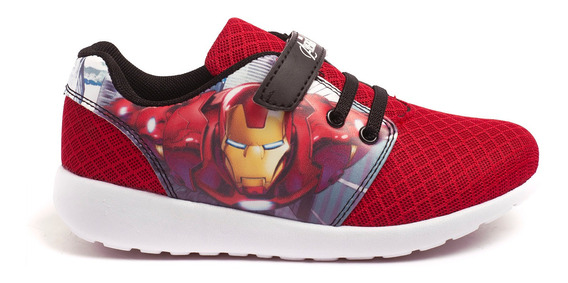Zapatillas Atomik Marvel Fury Ironman-mvl004roj- Open Sports