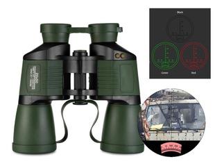 Binoculares Profesionales Hd Contra Agua Bk4 20x50 Con Mira