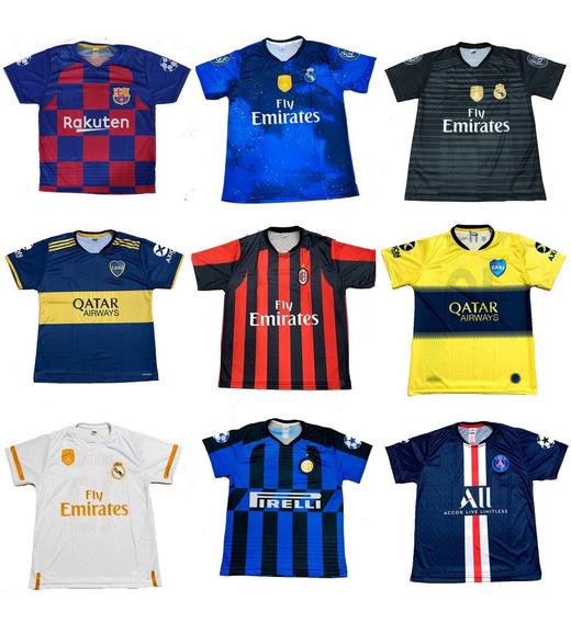 Kit 10 Camisetas Futebol 150 Modelos Diferentes Atacado 2020