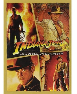 Indiana Jones - La Coleccion Completa - 4 Dvd - Nueva!!!