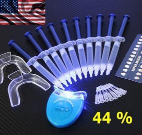 Clareamento Dental 44% Original 10 Seringas Led Completo