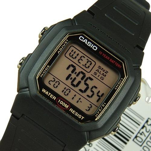 Relogio Casio Illuminator W-800hg-9 Original Na Caixa W 800