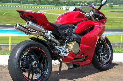 Imagem 1 de 6 de Escapamento Esportivo Ducati Panigale Bomber Mexx Sc Cód.616