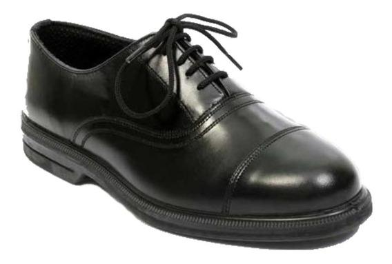 Zapato Cuero Militar Hombre Suela Febo