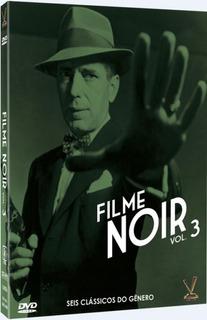 Dvd Filme Noir Vol.3 (3 Dvds)