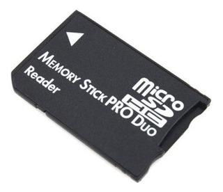 Memory Stick Pro Duo 32gb Micro Sd Psp Camaras + Envio