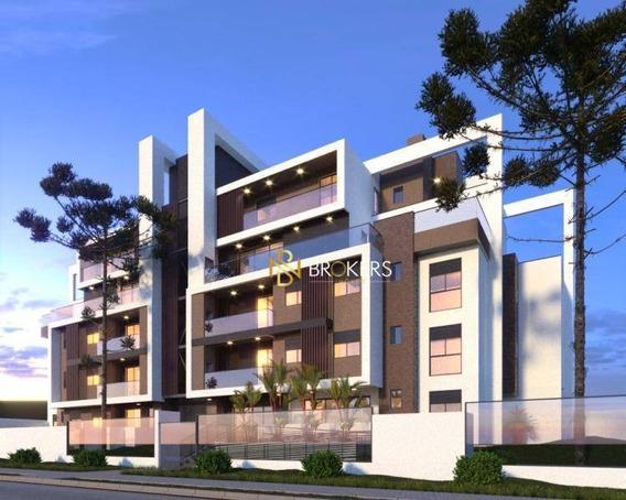 Cobertura Com 3 Dormitórios À Venda, 175 M² Por R$ 986.120,00 - Hugo Lange - Curitiba/pr - Co0135