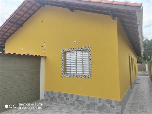 Imagem 1 de 14 de Casa Nova Com Piscina Na Praia De Itanhaém