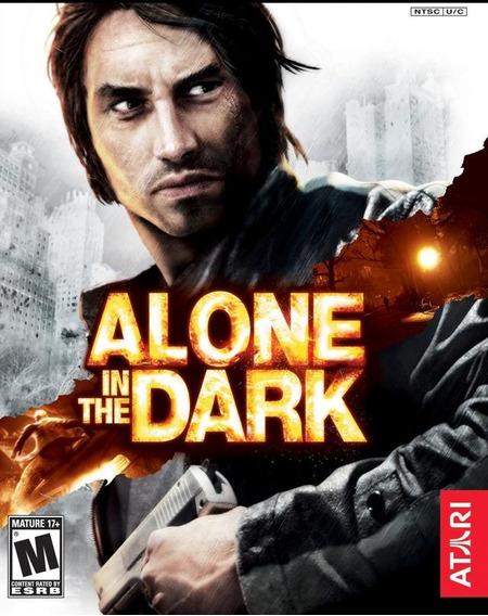 Alone In The Dark Jogo Pc Original Lacrado Mídia Física
