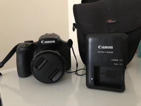 Máquina Semiprofissional Canon Powershot Sx60 Hs + Bolsa