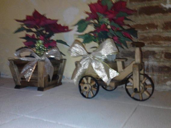 Triciclo Rustico Para Centros De Mesa Cdmx Df