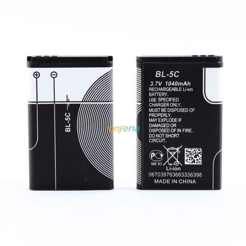 Pilas Batería Litio Bl-5c  Bocinas Sup Compatible Con Nokia