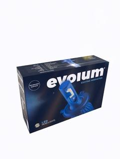 Evolum Led Kit Auxiliares Automotriz Xenon H4, 9007, 9004.